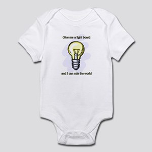 Give me a Light Board... Infant Bodysuit