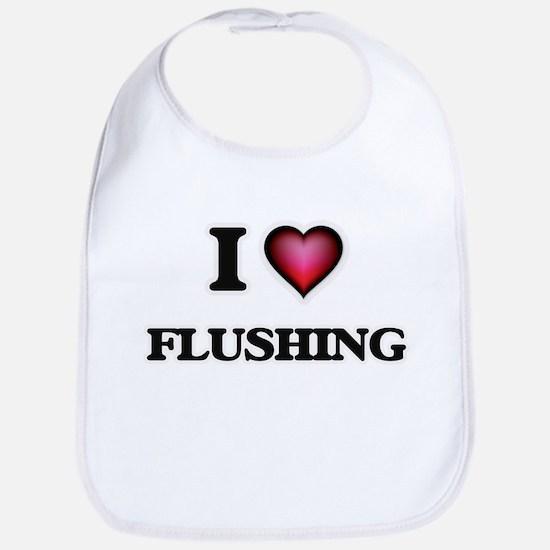 I love Flushing Bib