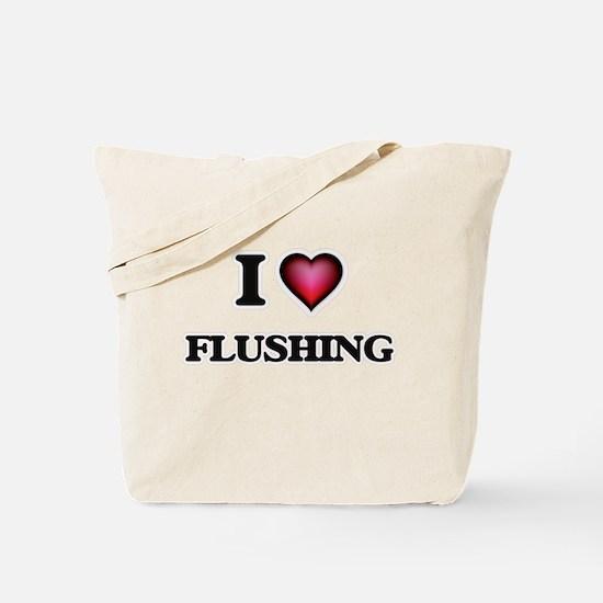 I love Flushing Tote Bag
