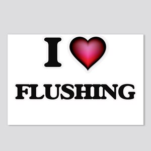 I love Flushing Postcards (Package of 8)