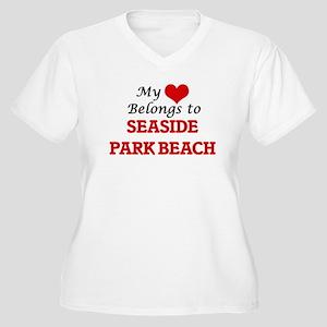 My Heart Belongs to Seaside Park Plus Size T-Shirt