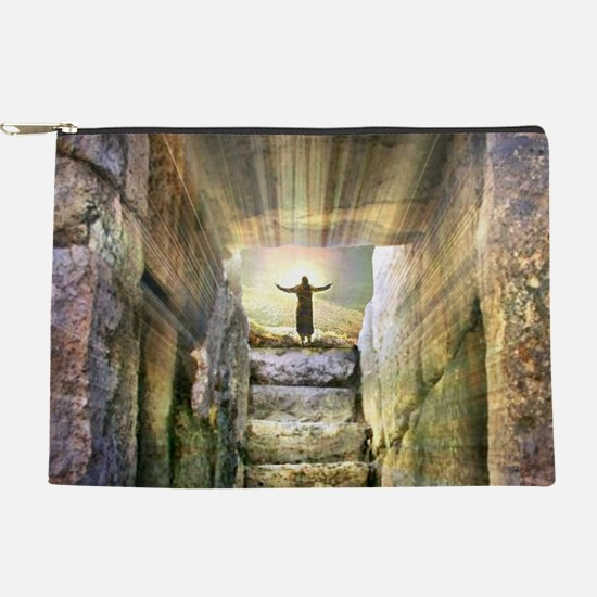 Easter Jesus Resurrection Empty Tomb Makeup Bag