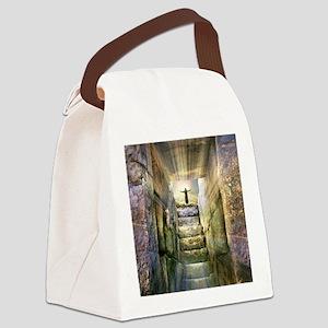 Easter Jesus Resurrection Empty T Canvas Lunch Bag