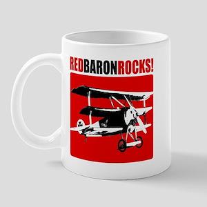 Red Baron Rocks! Mug