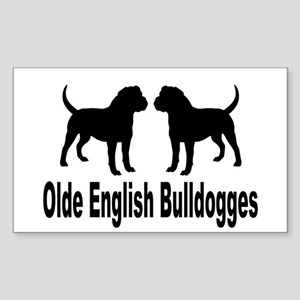 Olde English Bulldogges Sticker