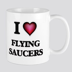 I love Flying Saucers Mugs