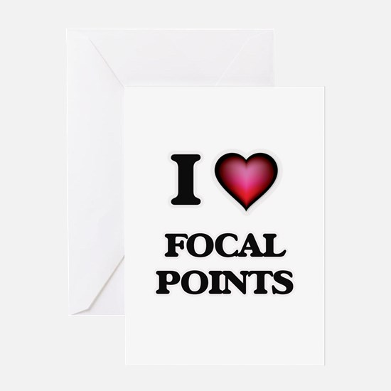I love Focal Points Greeting Cards