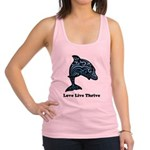 bChill Love Live Thrive Racerback Tank Top