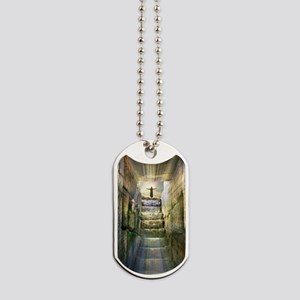 Easter Jesus Resurrection Empty Tomb Dog Tags