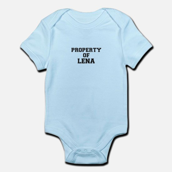 Property of LENA Body Suit