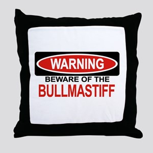 BULLMASTIFF Throw Pillow