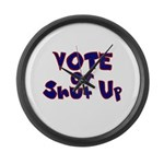 Vote Large Wall Clock