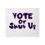 Vote Throw Blanket