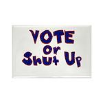 Vote Rectangle Magnet (100 pack)