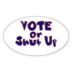 Vote Sticker (Oval)