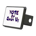 Vote Rectangular Hitch Cover