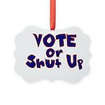 Vote Picture Ornament