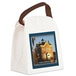 Saugerties Lighthouse: Hudson Canvas Lunch Bag