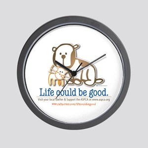 Life Could be Good Wall Clock