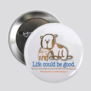"Life Could be Good 2.25"" Button"