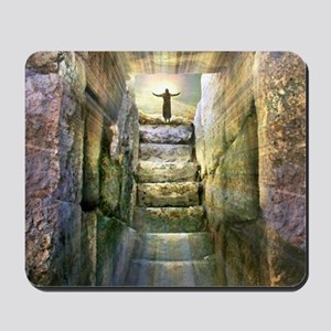 Easter Jesus Resurrection Empty Tomb Mousepad