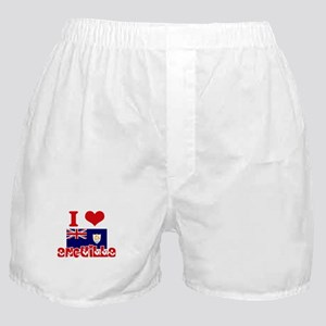 I Love Anguilla Boxer Shorts