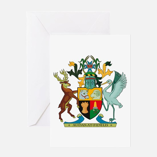 Queensland Coat of Arms Greeting Card