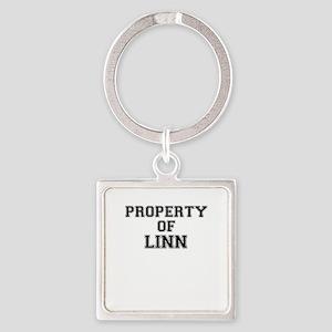 Property of LINN Keychains