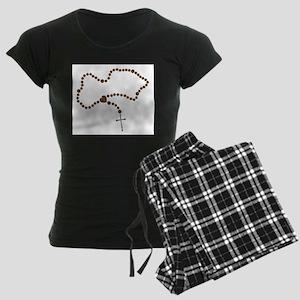 The Rosary Beads Women's Dark Pajamas