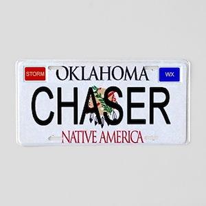 Oklahoma Storm Chaser Aluminum License Plate