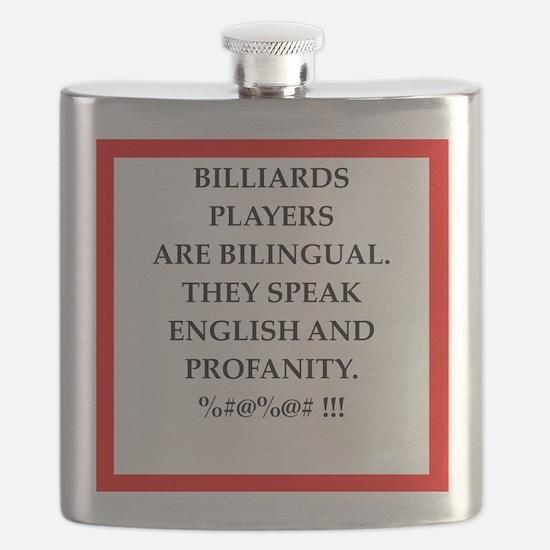 Billiards joke Flask