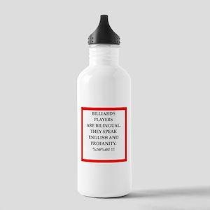 Billiards joke Water Bottle