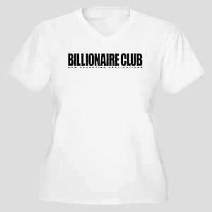 Billionaire Club Women's Plus Size V-Neck T-Shirt
