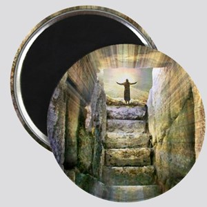 Easter Jesus Resurrection Empty Tomb Magnets