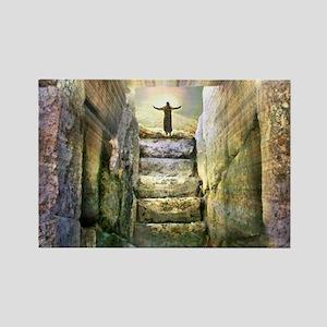 Easter Jesus Resurrection Empty Tomb Magnets