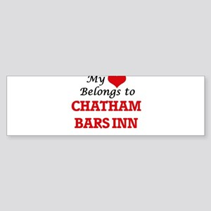 My Heart Belongs to Chatham Bars In Bumper Sticker