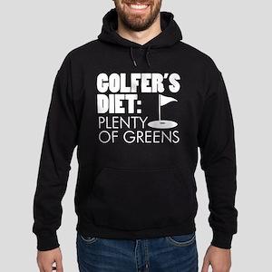 Golfer's Diet: Plenty Of Greens Hoodie