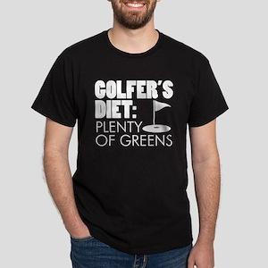 Golfer's Diet: Plenty Of Greens T-Shirt