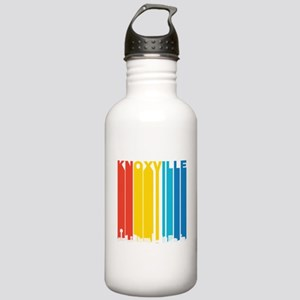 Retro Knoxville Tennessee Skyline Water Bottle