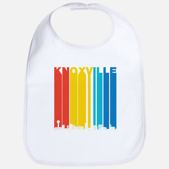 Retro Knoxville Tennessee Skyline Bib
