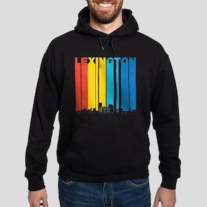 Retro Lexington Kentucky Skyline Hoodie