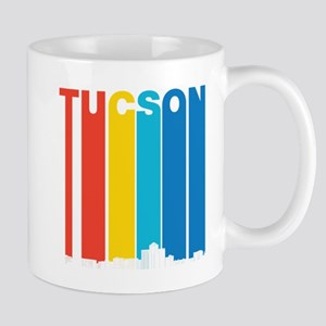 Retro Tucson Arizona Skyline Mugs
