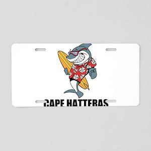 Cape Hatteras Aluminum License Plate