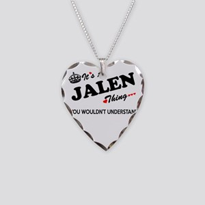 JALEN thing, you wouldn't und Necklace Heart Charm