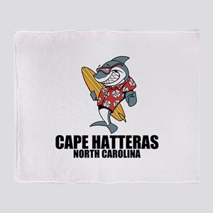 Cape Hatteras, North Carolina Throw Blanket