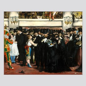 Masked Ball at the Opera by Edouard Manet Posters