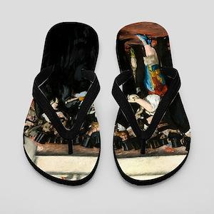 Masked Ball at the Opera by Edouard Manet Flip Flo