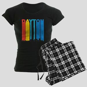 Retro Dayton Ohio Skyline Pajamas