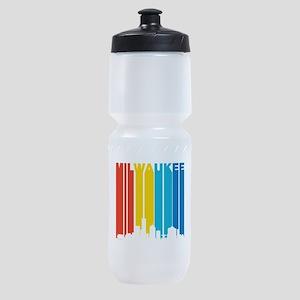 Retro Milwaukee Skyline Sports Bottle