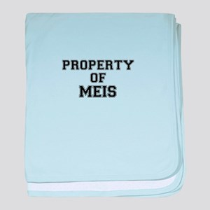 Property of MEIS baby blanket